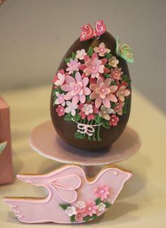 Cupcake (Chocolate Decorados Easter Eggs)