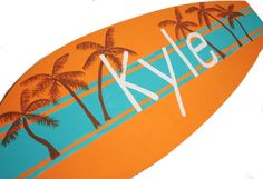 Large Surfboard Sign Custom Surf Board Beach Baby by Seagypsys, $100.00