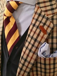 Cardigan Steppin' Out. Jacket Daks. Tie Gant. All PrepFamily.
