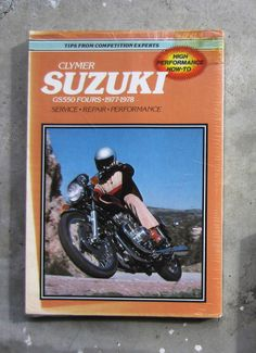 SUZUKI TS125 Workshop Parts List Manual for TS 125 Owners Service     SUZUKI GS550   Motorcycle Owners Workshop Repair Service Manual GS 550  Restore  SUZUKI