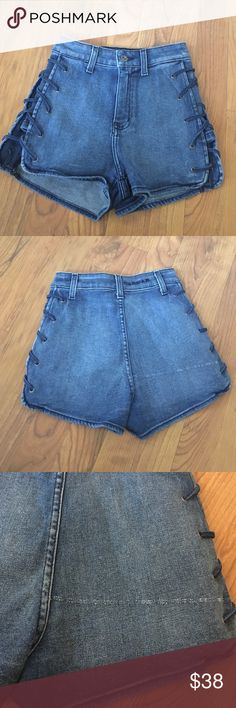 Carmar shorts The denim is slightly distressed as shown in photo 3. Not all shorts are distressed or distressed in the same spot. New with no tags. LF Shorts