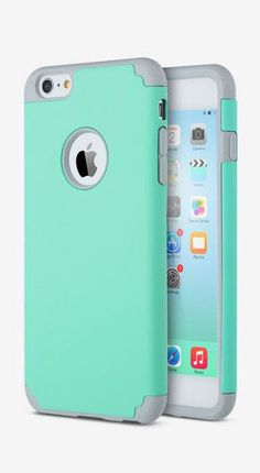 ULAK Case for Apple iPhone 6 Plus 6S Plus Hard Cover Mint