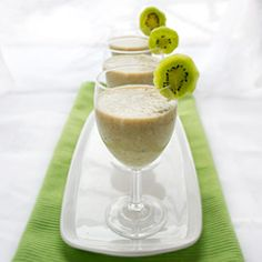 Healthy smoothie with an exotic tropical flair packed with vitamin C. Print Kiwi Smoothie Serves: 1   Ingredients 1 kiwi 1 ripe banana 1 cup milk or almond milk (for thick smoothie use just 1/2 cup milk) 1 Tbsp honey or other sweetener Instructions In a blender container, combine kiwi, banana, milk and honey. Cover and [...]