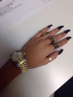 Get ready for some manicure magic as we bring you the hottest nail designs from celebrities, beauty brands and the catwalks Stiletto Nails, Coffin Nails, Acrylic Nails, Pointed Nails, Acrylics, Dope Nails, Nails On Fleek, Plain Nails, Nail Accessories