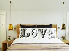 Calming Spare Room in Borrowed Light - Farrow & Ball Bedroom Prints, Bedroom Sets, Home Bedroom, Bedroom Furniture, Bedroom Decor, Master Bedroom, Ikea Bedroom Storage, Borrowed Light, Wicker Headboard