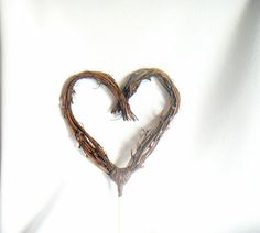 Wedding Decor Vine Cake Topper Twig Cake Topper by HandmadeAffair, $27.00