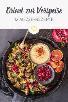 Schick deinen Gaumen mit unseren Foodbloggern und ihren 12 Mezze Rezepten auf orientalische Genussreise! Von Baba Ghanoush bis Hummus ist alles dabei, was Herzen von Morgenland-Fans höher schlagen lässt.