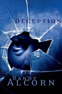 Deception by Randy Alcorn. The main character, Olly Chandler, is a detective in Portland, Oregon. He's so sarcastic but so funny. Great book to read.