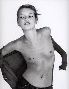 Kate Moss, young, 1993 #KateMoss