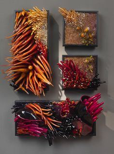 Amazing glass sculpture by Shayna Leib