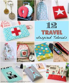 12 Travel Inspired Tutorials | A Spoonful of Sugar
