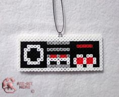 Nintendo Entertainment System NES Controller Necklace Bead Sprite Perler Art | eBay