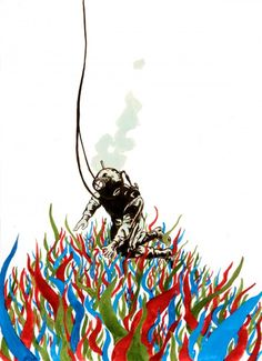 """Ted Nathanson, """"The Diver"""""""