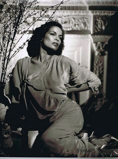 Bianca Jagger by George Hurrell (1977)