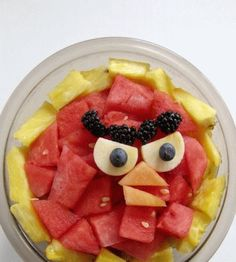 Macedonia in stile Angry Birds