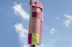 聖誕節禮物 限量一件 編織手感瑜珈墊背包 / yoga bag / 瑜伽包 / 編織包 / 手工織布包 - 粉色 幾何拼布 瑜伽包