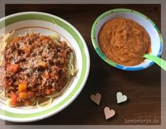 Spaghetti Bolognese porridge - food and drink Spaghetti Bolognese, Cooking Spaghetti, Spaghetti And Meatballs, Spaghetti Squash, Baby Food Recipes, Healthy Recipes, Drink Recipes, Baby Snacks, Porridge Recipes