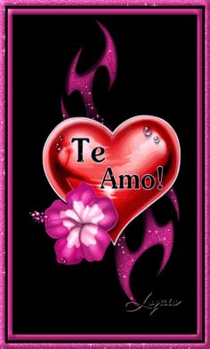 Best Portuguese - Te Amo Comments and Images Heart Wallpaper, Cellphone Wallpaper, Love In Spanish, Animated Heart, Love Backgrounds, Love Phrases, I Adore You, Love Images, Heart Images