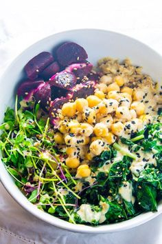 Detox Vegan Buddha Bowl - Lean Green Nutrition Fiend