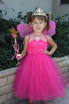 Pinkalicious Tutu Dress Costume by thepaisleypanda on Etsy, $65.00