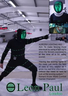 Leon Paul London Like · Facebook    We tested the mask with top British fencers including Richard Kruse, Ben Peggs and Jon Willis.