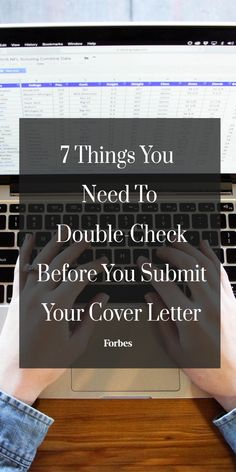 writing cover letters forbes Most of a cover letter can be written in advance as a template that works for a variety of roles here is a seven-step process to build a cover letter template one time that you can then tweak and.