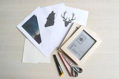 DIY à faire en 2 temps 3 mouvement sur le blog lydieschoice.blogspot.be! :) #diy #easy #wolf #deco