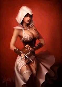 warriors Hot fantasy art female