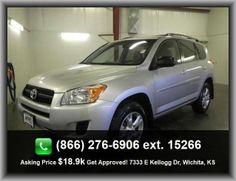 2011 Toyota RAV4 Base SUV  Split Rear Bench, Seatbelt Pretensioners: Front, Bucket Front Seats, Braking Assist, Body-Colored Bumpers, Rear Hip Room: 52.4, Overhead Console: Mini With Storage,