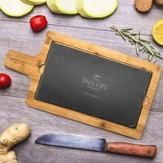Added NOW Family Personalis...   http://emmazing.uk/products/family-personalised-bamboo-and-slate-serving-board?utm_campaign=social_autopilot&utm_source=pin&utm_medium=pin  #homedecor #decor #personalisedgifts #personalised