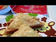 Peanut Butter Honey Toast, 4 Ingredients, Breakfast, Cooking with Kim