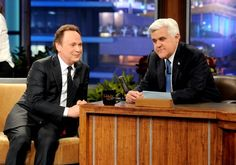 """Billy Crystal surprises Jay Leno as 'The Tonight Show' ends in style.  The highlight of Jay Leno's final telecast of NBC's """"The Tonight Show,"""" broadcast Feb. 6, 2014, didn't come at the beginning of the show, nor at the end. It was all about the brilliance of Billy Crystal."""