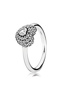 PANDORA Ring - In My Heart Sterling Silver & Cubic Zirconia_0