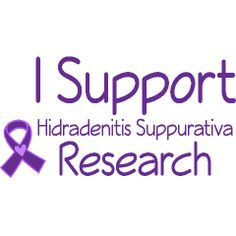 show your support for those dealing with #hidradenitis #suppurativa #hsawareness #purpleribbon