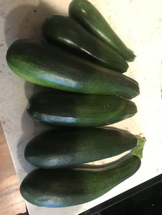 Tonights zucchini harvest. Hmm grilled or fried ? #gardening #garden #DIY #home #flowers #roses #nature #landscaping #horticulture