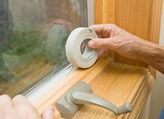 Replace your weatherstripping before summer arrives. With drafts blocked, your rooms will be more comfortable, you'll save on air conditioning costs, and you'll keep unwanted bugs from sneaking in through gaps.