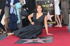 Mariska Hargitay- So classy and awesome role model for girls about loving their bodies. So glad she got her star!