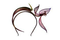 £350 Orchid Headpiece | Bailey Tomlin | Wolf & Badger
