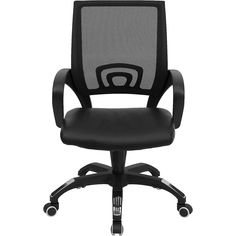 Flash Furniture Mid-Back Black Mesh Computer Chair - Sam's Club