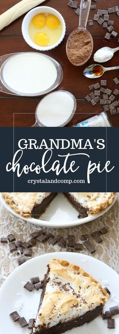 "A few weeks back my sister-in-law Alex and I were talking about pie recipes for the holidays. She said, ""Oh, I have a good one! My grandma made it all the time"
