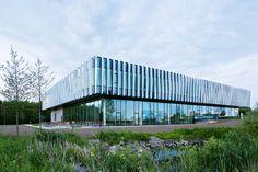 Tageslichtfilter: Bürogebäude in Ballerup