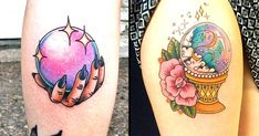 Tattoodo - If you wanna look into the unknown and maybe even see your future - these crystal ball tattoos are here for you!. See the future in these tatt 2016-3-11 15:33