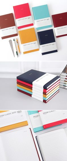 When you feel you deserves a classy and elegant notebook, check out the Large Prism Classic Notebook!