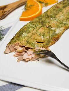 Baked Herbed Salmon Recipe on Yummly