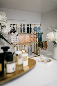 beautiful! And from a fashion blogger | Master Bedroom Closet Design Ideas