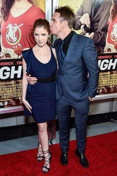 Pin for Later: Anna Kendrick and Sam Rockwell Play Up Their Offscreen Chemistry on the Red Carpet