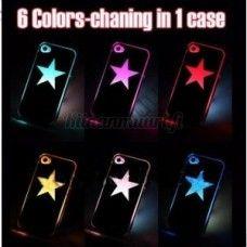 Tähtikuvioinen LED-suojakuori, iPhone 4S