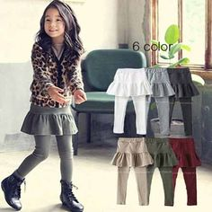 Cheap leggings black, Buy Quality trouser belt directly from China trousers pants Suppliers: start Little Girl Fashion, Kids Fashion, Fashion Design, Outfits Niños, Kids Outfits, Disneyland Outfits, Baby Girl Winter, Toddler Girl Outfits, Diy Dress