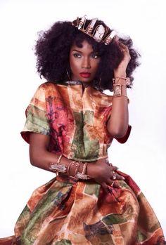 Kamit beauty✨  Kamit-model : Aïssata, Guinea    IG/tumblr/Twitter: @blissfullqueen