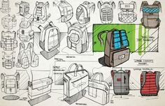 Sketching // Rendering by Brent Radewald, via Behance